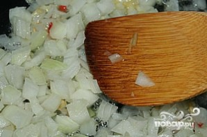 Индейка с болгарским перцем - фото шаг 2
