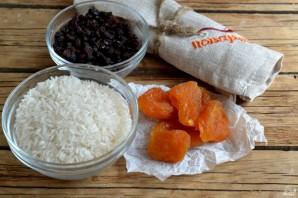 Рис с сухофруктами - фото шаг 1