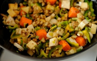 Баранина с овощами в духовке - фото шаг 2