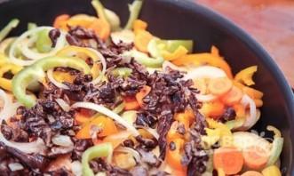 Овощное рагу с фрикадельками - фото шаг 3