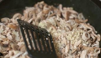 Макароны со сливками и грибами - фото шаг 5