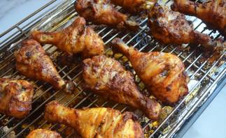 Хрустящая курица в духовке - фото шаг 8