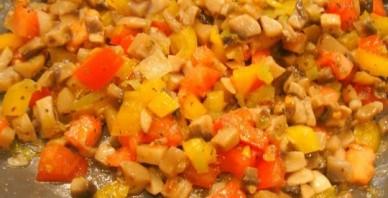 Картошка по-деревенски с грибами - фото шаг 5