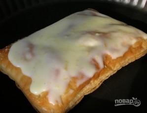 Слоеный торт со сгущенкой - фото шаг 7