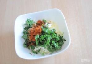 Кукуруза, запеченная со специями и зеленью - фото шаг 1
