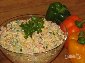 Салат закусочный - фото шаг 9