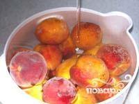 Компот из персиков - фото шаг 1
