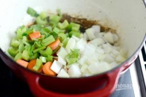 Тушёная курица с овощами - фото шаг 6