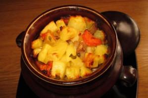 Кижуч, запеченный с картофелем - фото шаг 5
