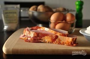 Картофельные вафли с беконом - фото шаг 1