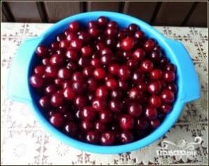 Варенье из вишни пятиминутка - фото шаг 1