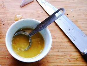 Салат овощной с ветчиной - фото шаг 5