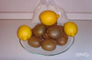 Варенье из киви с лимоном - фото шаг 1