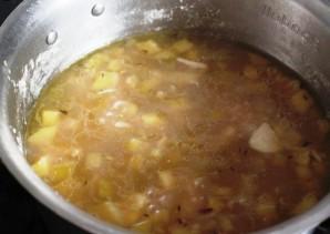 Куриный суп с крупой - фото шаг 3