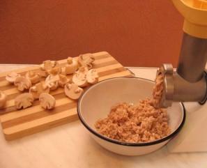Крем-пюре из шампиньонов - фото шаг 1