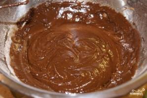 Шоколадно-сырный торт - фото шаг 1