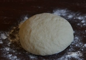 Чебуречное тесто - фото шаг 5