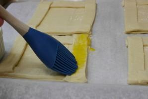 Ватрушки из слоеного теста  - фото шаг 2