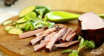 Салат со свежим огурцом - фото шаг 3