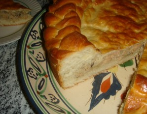 Пирог с камбалой - фото шаг 9