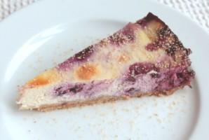 Черничный чизкейк со сливками - фото шаг 9