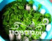 Ошиташи - Отварной шпинат - фото шаг 2