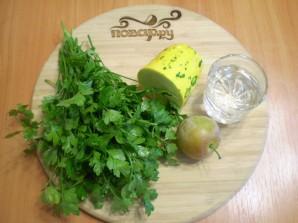 Зеленый коктейль с кабачком - фото шаг 1