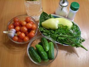 Закатка овощного ассорти - фото шаг 1