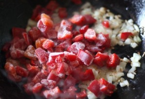 Плов из красного риса - фото шаг 2