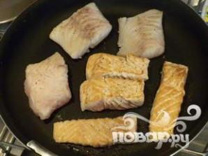 Морепродукты с квашеной капустой - фото шаг 3