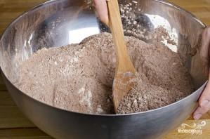Шоколадный кекс без яиц - фото шаг 2