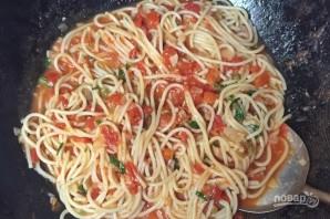 Спагетти с домашним томатным соусом - фото шаг 15