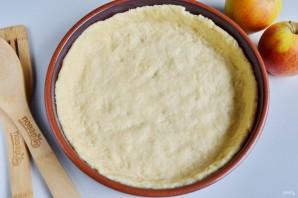 Воздушный творожный пирог с яблоками - фото шаг 4