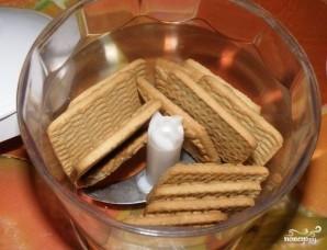 Пасха из печенья и творога - фото шаг 4