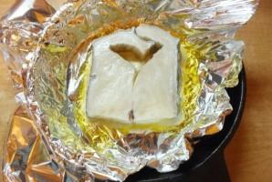 Стейк зубатки в духовке - фото шаг 4