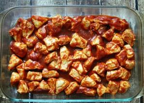 Тефтели с картошкой в духовке - фото шаг 1
