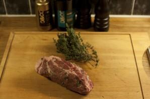Антрекот из свинины на сковороде - фото шаг 3