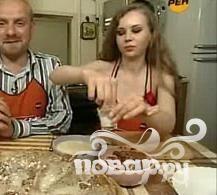 Курский блинный торт - фото шаг 1