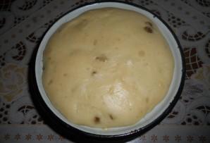 Кекс из дрожжевого теста - фото шаг 4