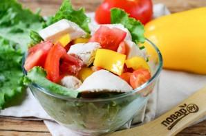 Салат с черешней и курицей - фото шаг 6