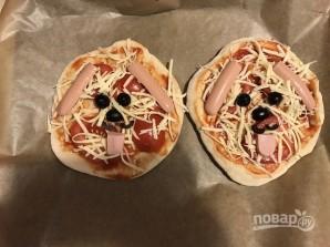 """Пита-пицца """"Собачки"""" - фото шаг 9"""