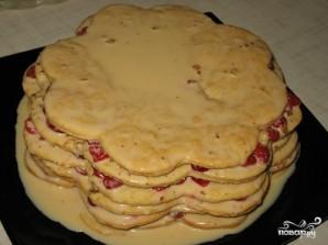 "Торт ""Соты"" - фото шаг 5"