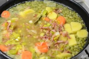 Густой гороховый суп - фото шаг 6