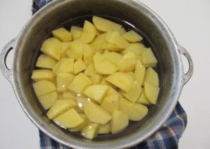 Картофельное пюре с шампиньонами - фото шаг 1