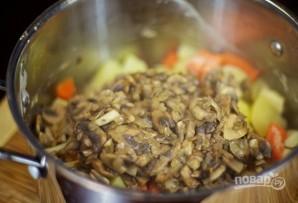 Суп-пюре из свежих грибов - фото шаг 5