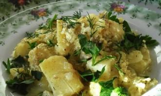 Картошка с кефиром - фото шаг 7