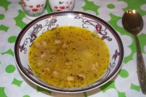 Гороховый суп с салом - фото шаг 4