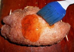 Свиные отбивные с изюмом - фото шаг 4