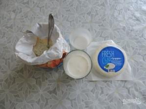 Лепешки с сыром на кефире на сковороде - фото шаг 1