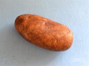 Картофель по-деревенски с сыром и специями - фото шаг 1
